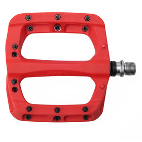 HT Nano PA03A Flat Pedals, red
